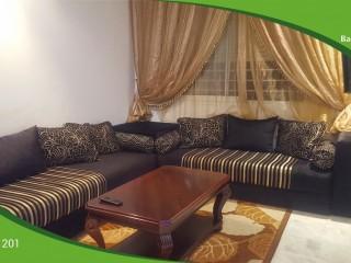 Location d'un appartement Meublé à Hay Riad